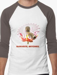 Namaste, Bitches! Men's Baseball ¾ T-Shirt