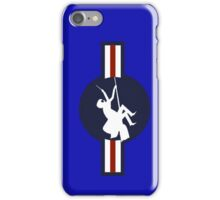 Ministry of Magic Air Force Insignia US distressed iPhone Case/Skin