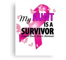My Aunt Is A Survivor Canvas Print