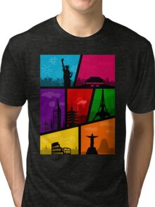 Cities of the World Tri-blend T-Shirt