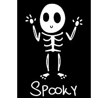 Spooky Skeleton~ Photographic Print
