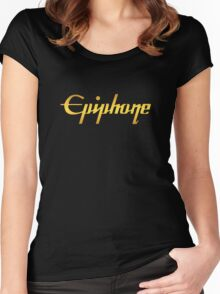 Gold Epiphone Women's Fitted Scoop T-Shirt