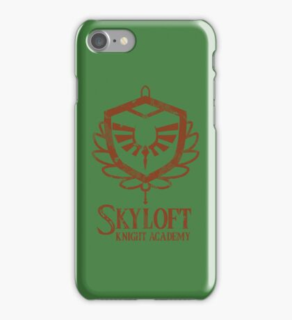 Skyloft Knight Academy iPhone Case/Skin