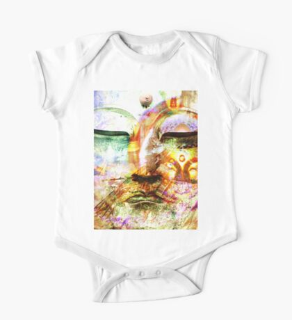 Buddha, Baby One Piece - Short Sleeve