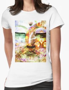 Buddha, Baby Womens Fitted T-Shirt