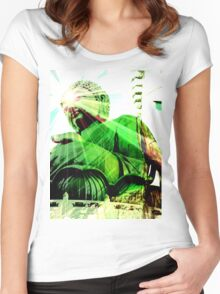 Green Buddha Women's Fitted Scoop T-Shirt