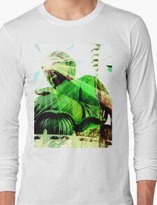 Green Buddha Long Sleeve T-Shirt