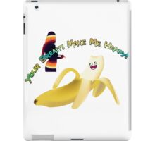 Your Breasts Make Me Happy iPad Case/Skin