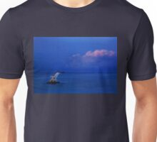 Jump over the horizon or dive into the Aegean Unisex T-Shirt