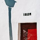 """sol"" entrance to bullring, Mijas, Spain by bethischeery"