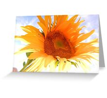 Sunshine, Sunflowers and Sunscreen Greeting Card