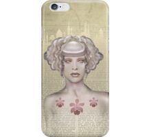 The Bone Orchid iPhone Case/Skin