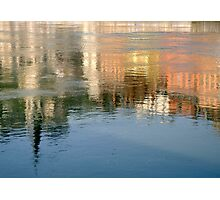 Rhone river reflection Photographic Print
