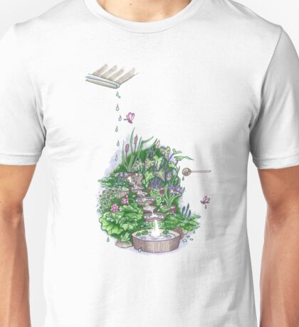 Flowform Edible Station Garden Unisex T-Shirt