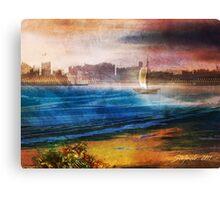 Friendly Harbour Canvas Print