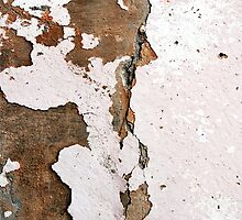 Cracked Dirty Stone Wall by designator