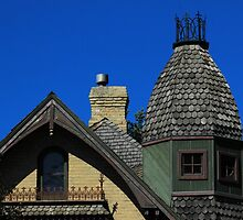 House Windows and Turret by rhamm