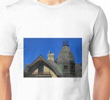 House Windows and Turret Unisex T-Shirt