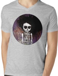 骸骨 壱 Mens V-Neck T-Shirt