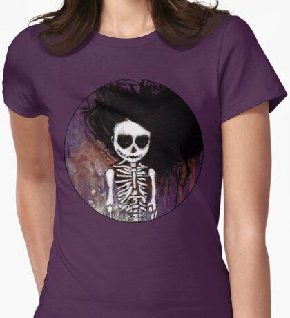 骸骨 壱 Womens Fitted T-Shirt
