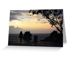 Sunset over the Andaman Sea Greeting Card