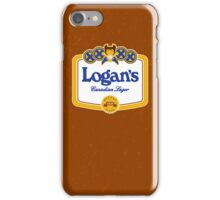 Logan's Canadian Lager (iPhone case) iPhone Case/Skin