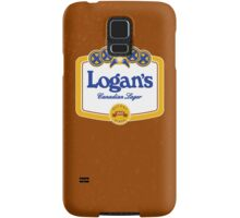 Logan's Canadian Lager (iPhone case) Samsung Galaxy Case/Skin