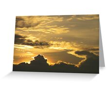 Andaman Sea Sunset, Promthep Cape, Phuket, Thailand Greeting Card