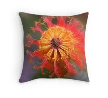 Heath Banksia Throw Pillow