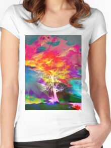 One Tree Thrice - DOS Women's Fitted Scoop T-Shirt