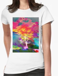One Tree Thrice - DOS Womens Fitted T-Shirt
