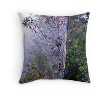 The Amazing Spider Web! Throw Pillow