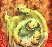 Nativity Art Deco  by leapdaybride