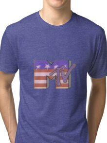 Retro MTV 'murica! Tri-blend T-Shirt