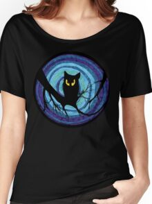 time for child stories: the EVIL OWL Women's Relaxed Fit T-Shirt