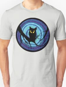 time for child stories: the EVIL OWL Unisex T-Shirt