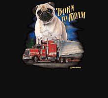 Pug Born to Roam Unisex T-Shirt