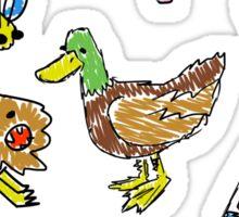 Ducks And Such Sticker