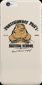 Punxsutawney Phil's Driving School by Vincent Carrozza