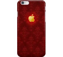 Golden Apple and Lush Red iPhone Case/Skin