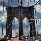 Brooklyn Bridge iPhone 4 case by Warren Paul Harris