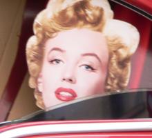 Marilyn Monroe iPhone Case Sticker