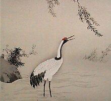 crane in water by atiya
