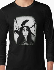 Her eyes so innocent... on hallowed ground. Long Sleeve T-Shirt