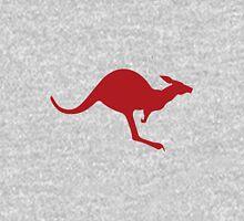 Navy Kangaroo Unisex T-Shirt