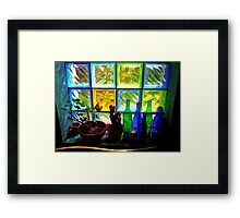 Colourful Light Framed Print