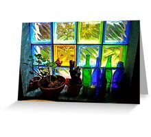 Colourful Light Greeting Card