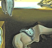 Melting Clocks Salvador Dali Fine Art by Rainbow Rules