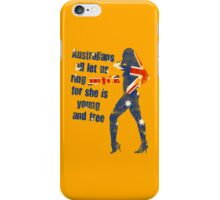 Australians all let us ring joyce! iPhone Case/Skin