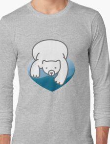 Polar Heart Long Sleeve T-Shirt
